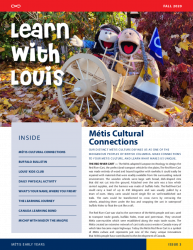 Métis Family Connections Fall Newsletter – Learn with Louis