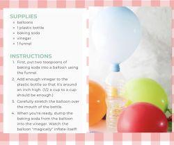 Magic Balloon Science Experiment