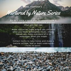 Nurtured by Nature-Outdoor Activities